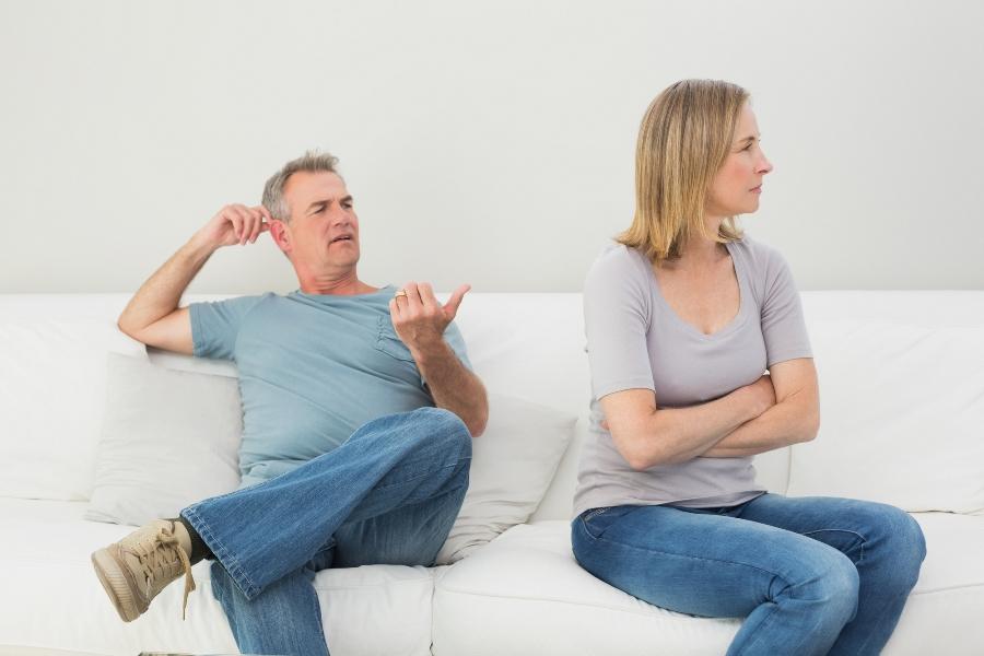 Beziehungsprobleme werden von Paaren erschaffen