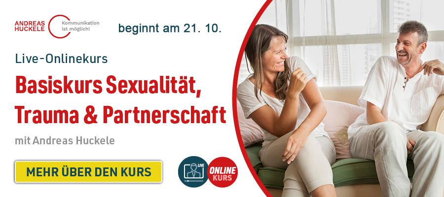 """Live-Onlinekurs """"Basiskurs Sexualität, Trauma & Partnerschaft"""""""